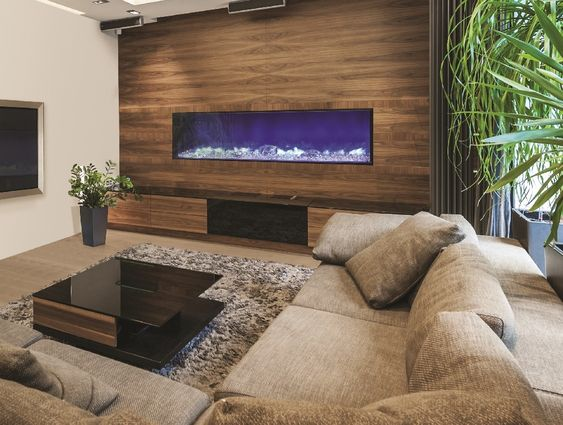The Amantii Built In Electric Fireplace 72 - Built In Electric Fireplace, Electric Fireplaces And Built Ins On
