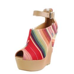 ooooh, serape shoes!