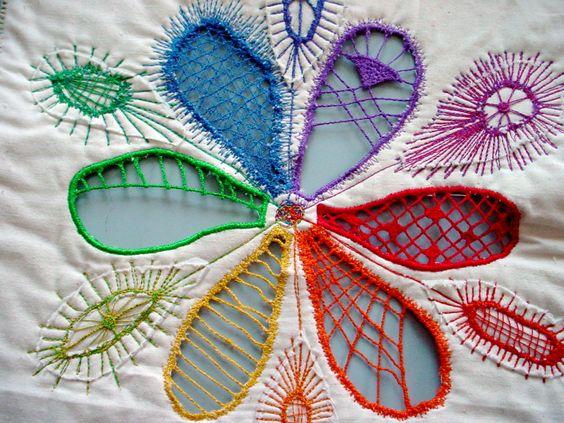 machine embroidery - Google Search