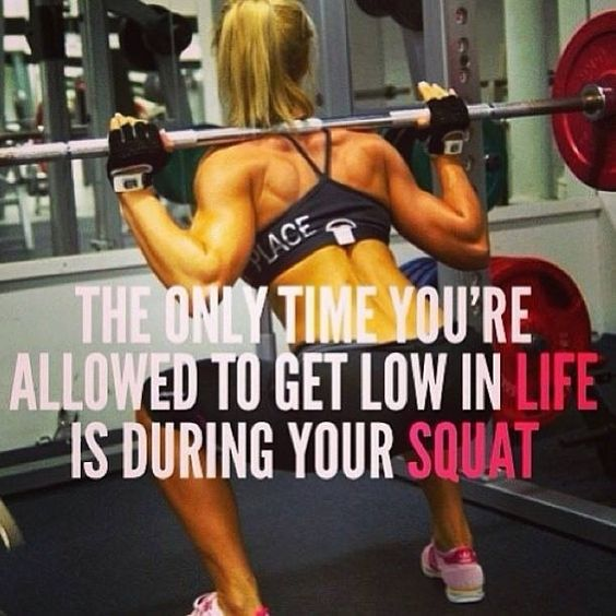 Squat it out..all your problems of the world, just take them out by getting low during your squats!