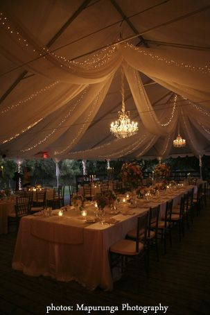 aankleding tent (by Kristin Banta Events)