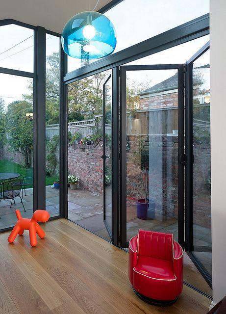 bi-fold door & 12 best Bifold doors images on Pinterest | Windows Kitchen ...