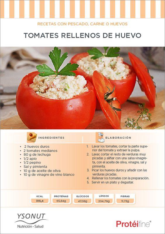 Recetas de Dieta   Tomates Rellenos