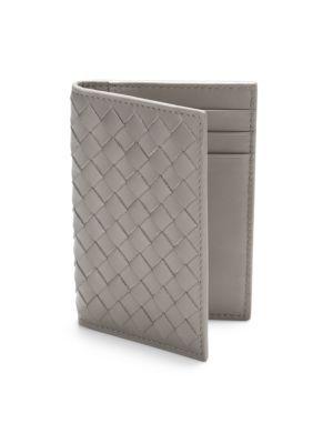 BOTTEGA VENETA Intrecciato Card Case. #bottegaveneta #bags #leather #wallet #accessories #