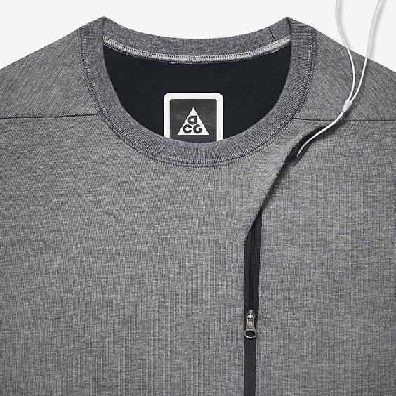 NikeLab ACG Tech Fleece Crew Men's Sweatshirt. Nike.com (UK)