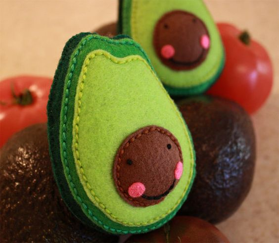 Kawaii felt avocado , sheer genius(,,i second that