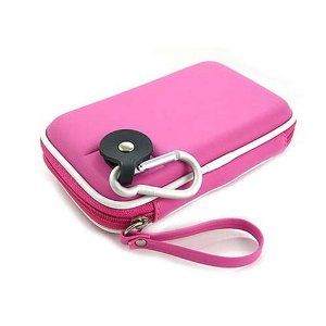 Kroo CNDSZNP2-HD Western Digital My Passport Portable Hard Drive EVA Case (Hot Pink) (Personal Computers)