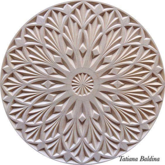 Chip carving design by tatiana baldina https instagram