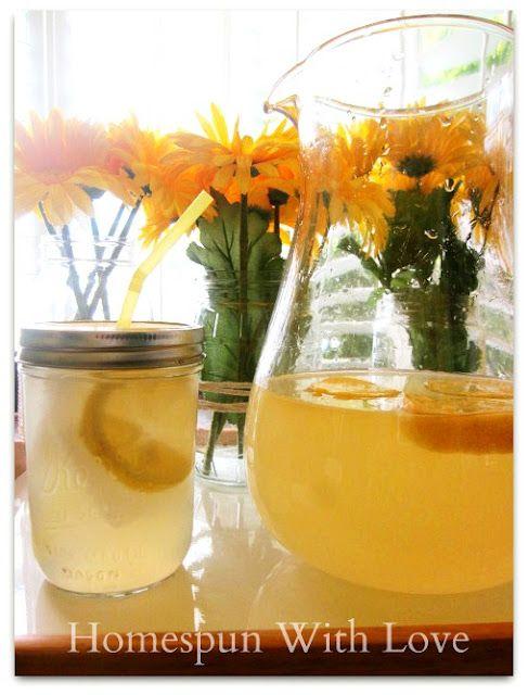 Homespun With Love: Agave Lemonade