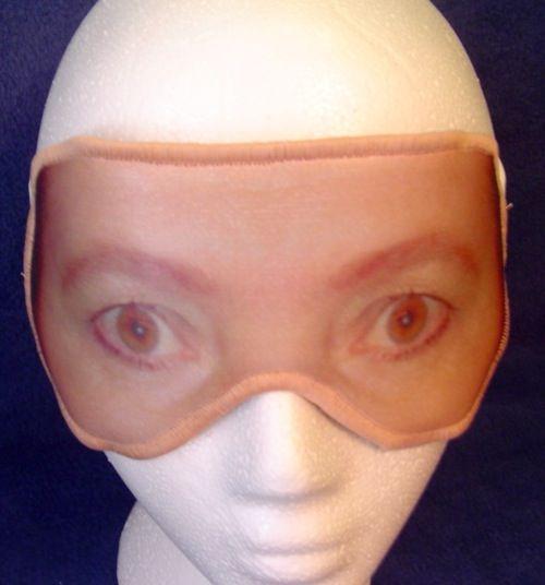 creepy eye masks <3 lol