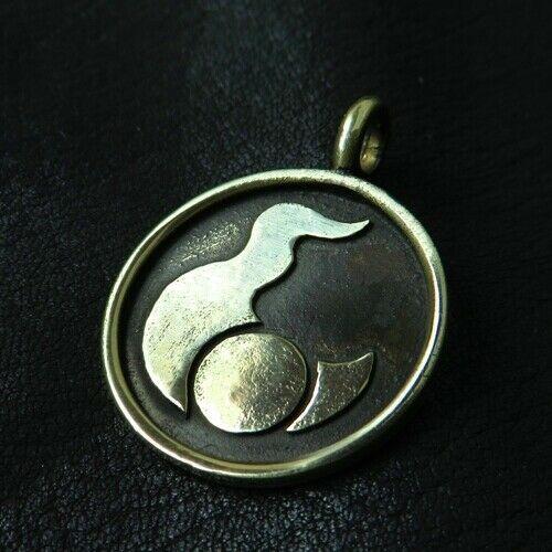 Mark of Tzeentch Pendant Stainless Steel Chaos Necklace Warhammer 40k Symbol