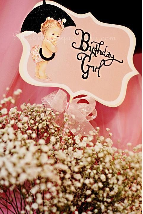 Vintage Birthday for your Baby Girl?