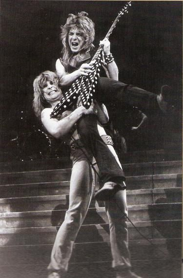 """""""Im going off the rails on the crazy train"""" """"I know things are going wrong for me, but you gotta listen to my words""""   epic guitar solo by: Randy Rhoads"""