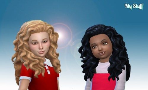 Pin By Gabija Sakinyte On Sims Sims 4 Curly Hair Curly Hair