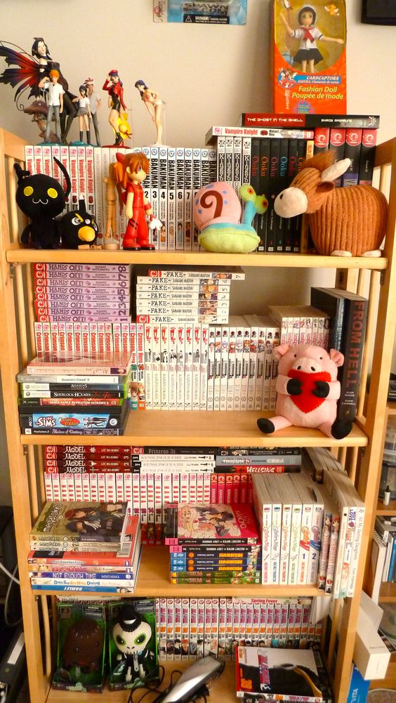 Manga collection @JJNeepinFilms