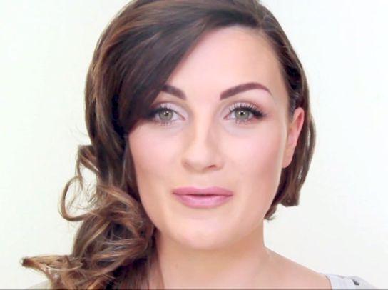 Megan Fox Golden Globes Make Up tutorial