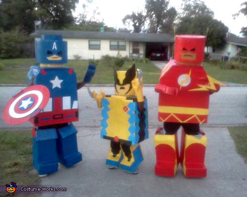 LEGO Superheroes - 2012 Halloween Costume Contest