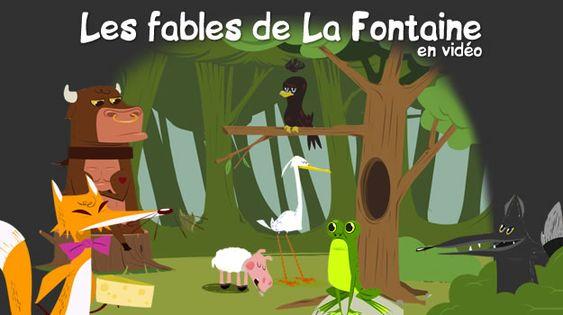 Les fables de La Fontaine en vidéo : http://www.jedessine.com/r_1904/videos/videos-les-fables-de-la-fontaine