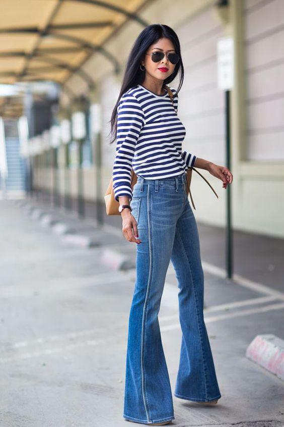 Ecco i nostri 4 consigli sulle scarpe da indossare con i pantaloni a zampa, per essere sicura di non sbagliare...