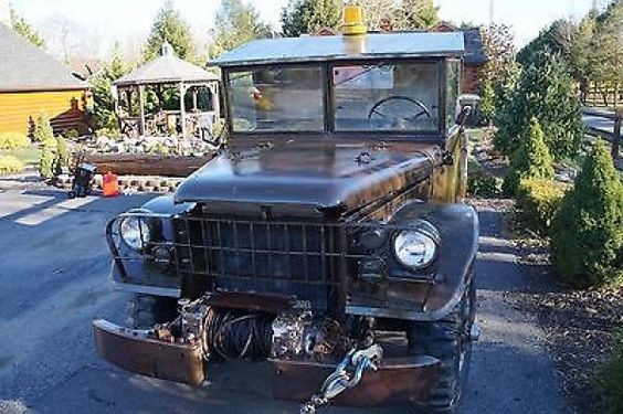 1952 Dodge Power Wagon M-37 Dodge Power wagon Truck 3/4 ton 1952 Military T245 Martinsburg WV 25419