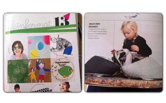 Kleinformat 13 Das Magazin für kreative Eltern: Play-fold-bird