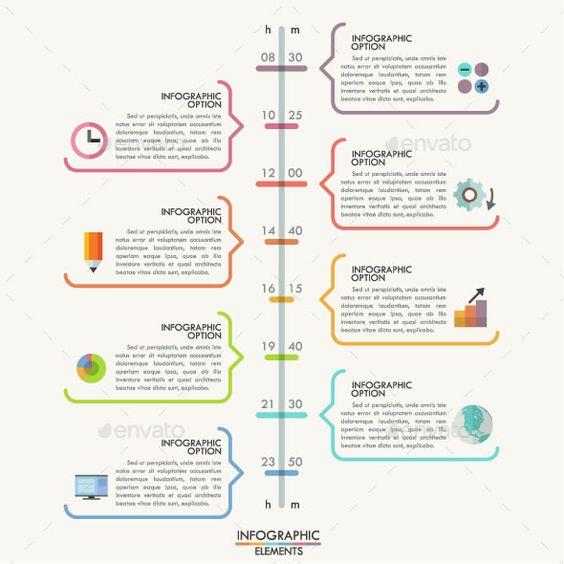 25 Amazing Timeline Infographic Templates | Pinterest | Timeline ...