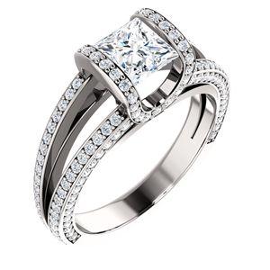 Adagio | Nue Diamonds http://www.nuediamonds.com/lab_created_rhodium_Adagio_princess.html