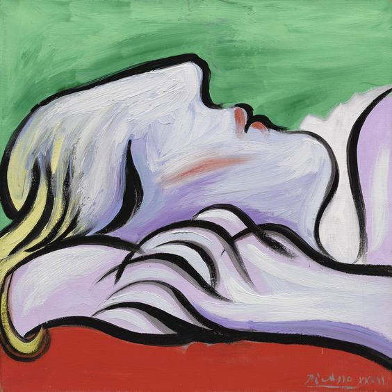 Le Repos by Pablo Picasso (1932)