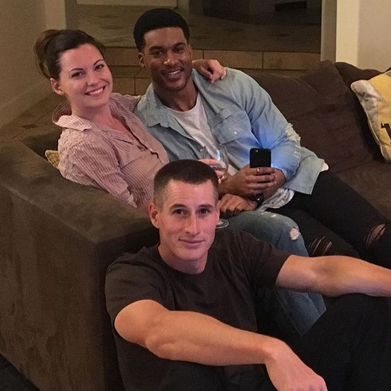 #NightShift party at the Fehr house!