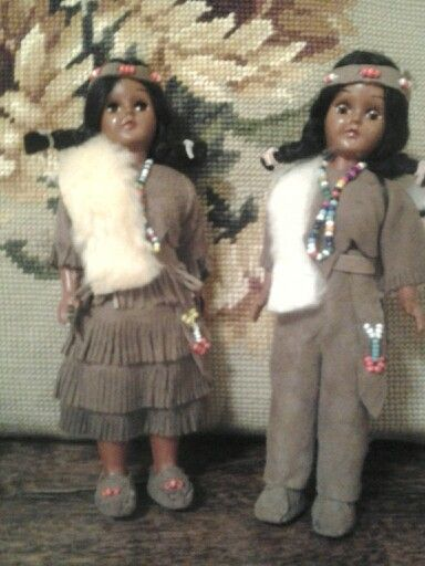 Cute little Indian dolls.