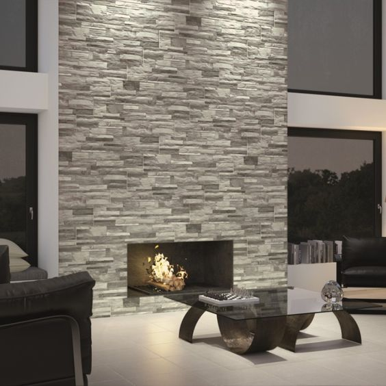 Brick Feature Wall Tiles Are A Modern Way Of Adding