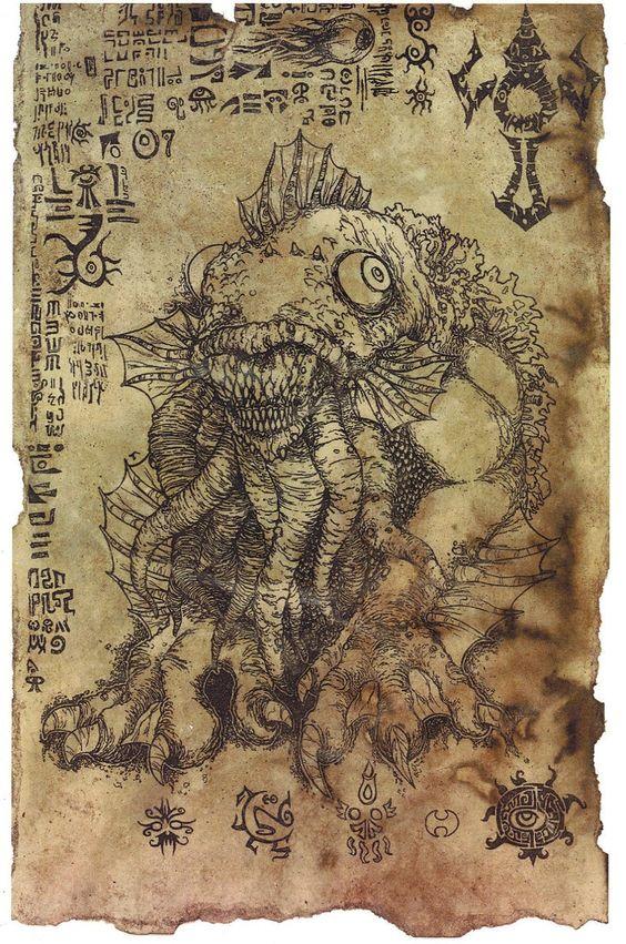 El Necronomicón,un libro salido de los infiernos 6fbd5dc24ac9e3f749f5dc351e4f937d