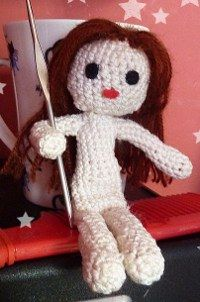 Crochet pattern |basic female doll