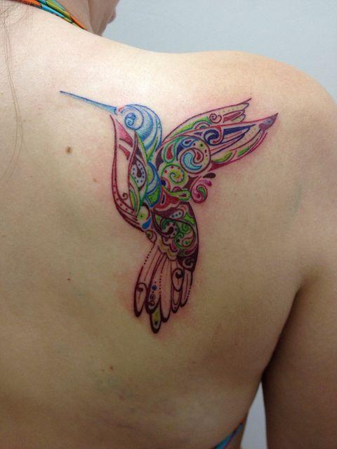 hummingbird tattoo my style pinterest beautiful. Black Bedroom Furniture Sets. Home Design Ideas