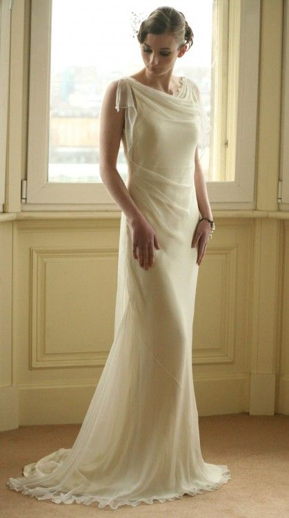 I'm already married, but I see no reason not to make myself this dress.  NONE AT ALL, SHUT UP.