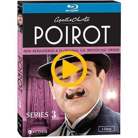 Agatha Christie 39 S Poirot Series 3 Dvd Blu Ray Blu Ray Bluray Agatha Christie S Poirot Series 3 Dvd Agatha Christie Poirot Agatha Christie S Poirot