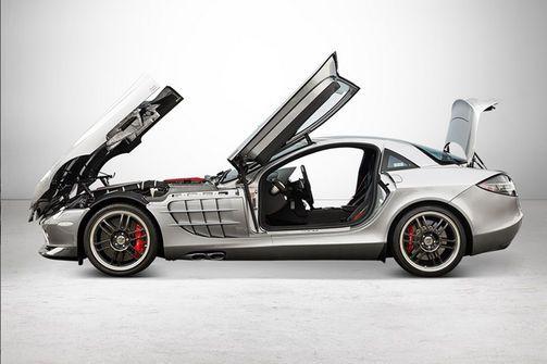 Nur 150 Exemplare dieses Mercedes-Benz SLR McLaren der Sonderserie 722 wurden gebaut.