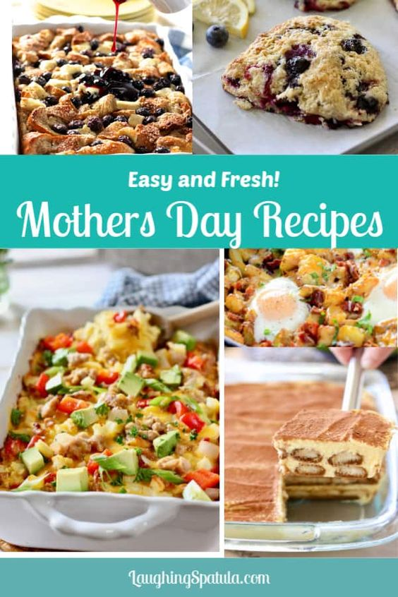 Mothers Day Recipes! | Laughing Spatula