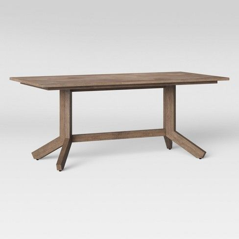Newfield 72 Rectangle Farmhouse Dining Table Threshold