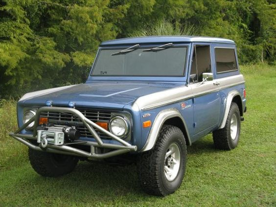 1977 Ford Bronco, 1977 FORD BRONCO (last year of the box body style ...