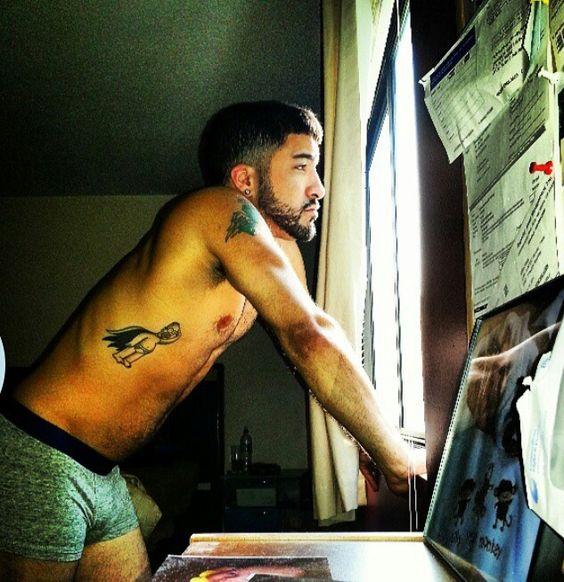 Good Morning Handsome Tattoo Boy!!