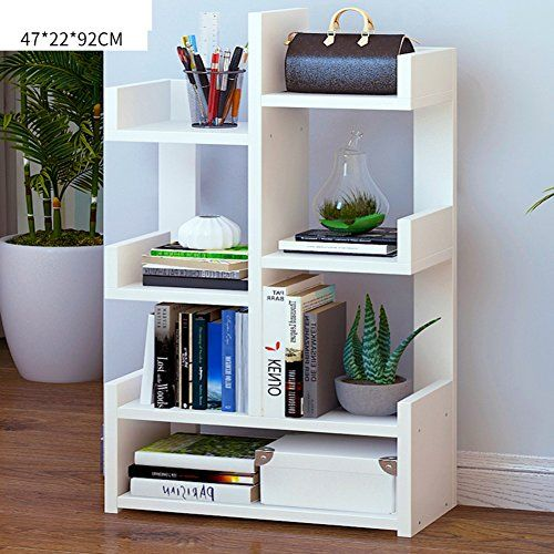 Wjxboos Bookcases Minimalist Modern Floor Bookshelf Racks Assembly Children Bookcases Creative Shelves Cabinets D 47x With Images Creative Bookcases Bookcase Kids Bookcase