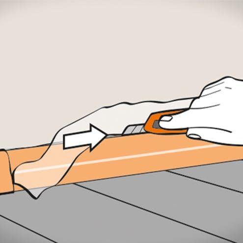 Sockelleisten Anbringen Schritt Fur Schritt Sockelleisten Sockel Und Obi