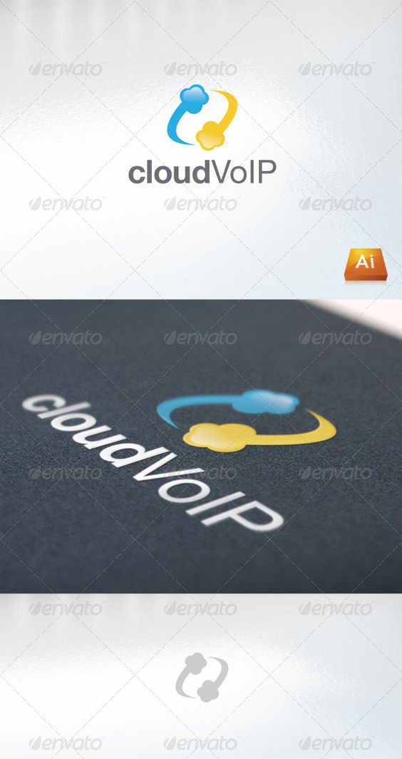 cloudVoIP  #GraphicRiver         - Excellent logo,simple and unique. - .ai and .eps format. - Font used : Helvetica Neue Family  	 PLEASE RATE IT AFTER YOU HAVE PURCHASED IT !      Created: 21October11 GraphicsFilesIncluded: AIIllustrator Layered: No MinimumAdobeCSVersion: CS Resolution: Resizable Tags: bold #business #cloud #communication #company #logo #mobile #modern #professional #unique #voip