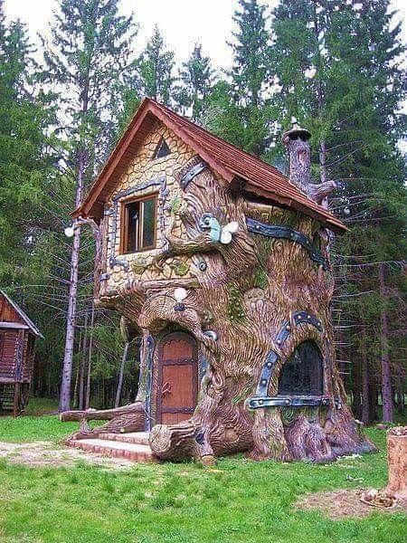 Fairy Tale House Tree House Designs Fantasy House Minimalist House Design