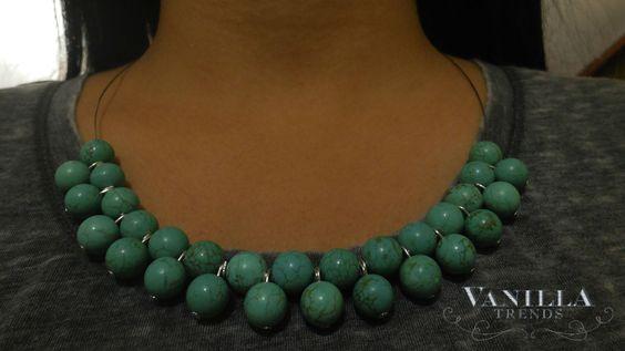 NUEVO POST - DIY : Aprende a hacer este collar, es fácil de hacer y tiene mucho estilo. Así que inténtalo!