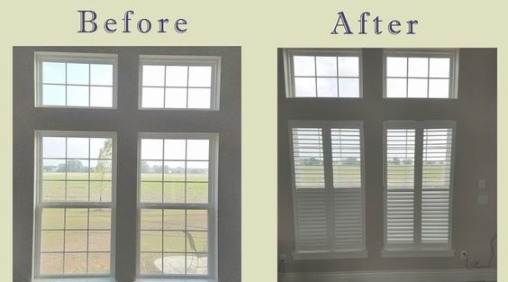 Plantation shutters in a Perrysburg OH home. #Shutters #WindowTreatments https://plus.google.com/+BellagioWindowFashionsToledo/posts