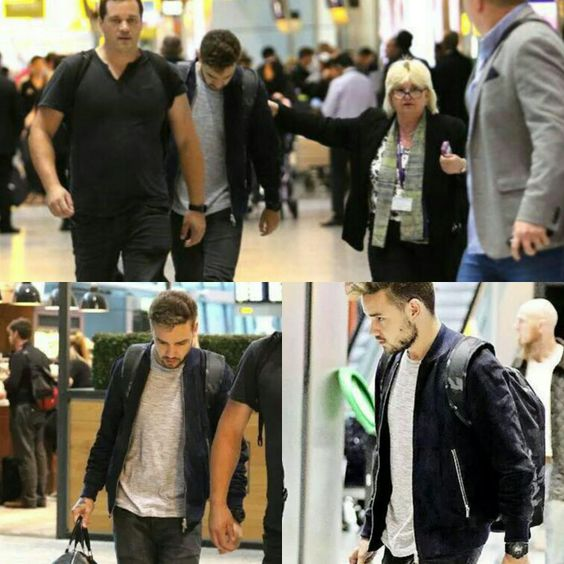 Liam arriving in London (16/09/15)
