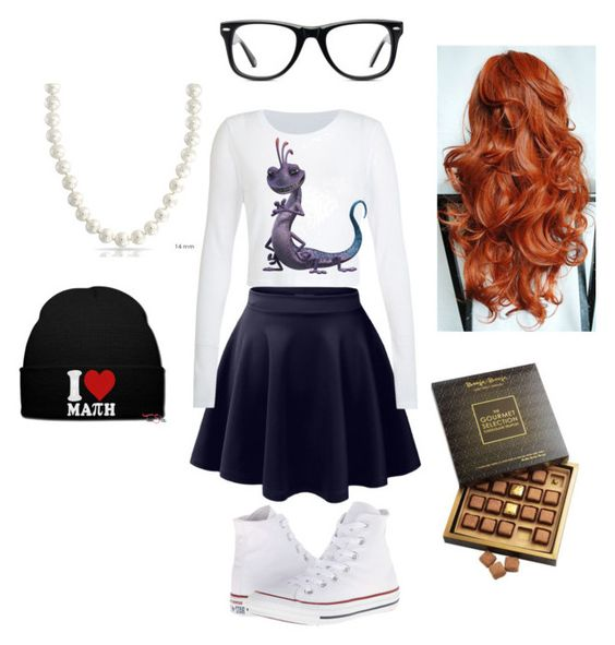 """""""kily egan look"""" by sophieewelsh ❤ liked on Polyvore featuring beauty, LE3NO, Converse, Muse and Bling Jewelry"""
