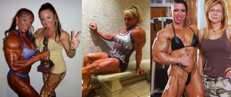 The biggest female bodybuilders in the world